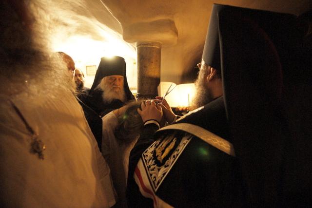 Наместник обители совершил монашеский постриг